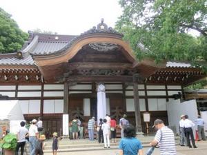 201120深大寺夏蕎麦の集い 深大寺本堂1.jpg