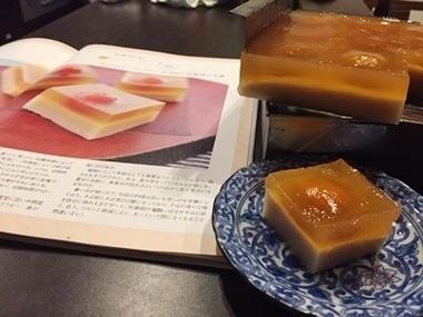 すいーつ優子作「蕎麦の和菓子」