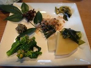 藤枝「ながいけ」山菜.JPG