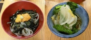 雲丹蕎麦と七草蕎麦.jpg