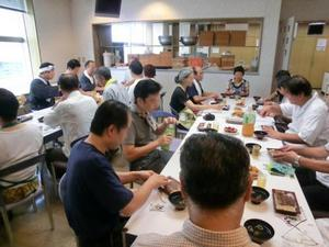 201120深大寺夏蕎麦の集い 昼食風景1.jpg
