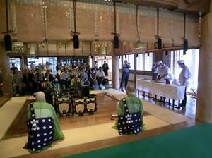 20120716深大寺阿弥陀如来蕎麦奉納.JPG