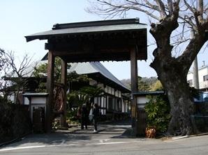 万大酒造 門から鶴生館を.jpg