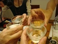 北千住「あららぎ」日本酒.JPG